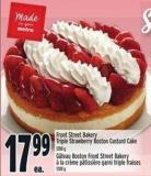 Front Street Bakery Triple Strawberry Boston Custard Cake 1200 g