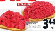 Extra Lean Ground Beef Or Boneless Stewing Beef Cubes Value Pack