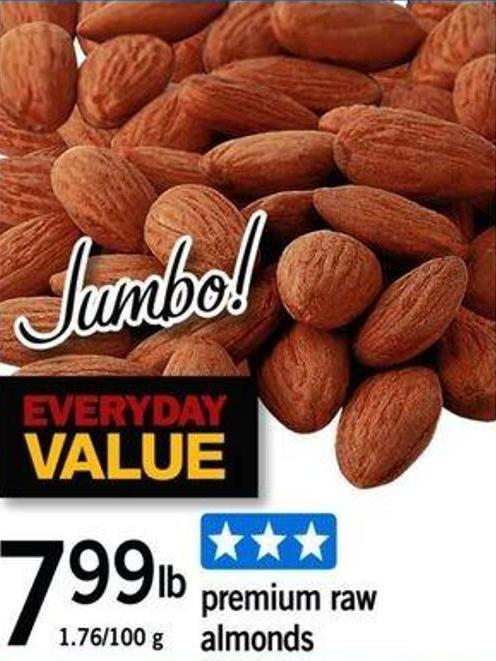 Premium Raw Almonds