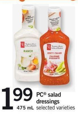 PC Salad Dressings - 475 Ml
