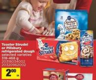Toaster Strudel Or Pillsbury Refrigerated Dough - 318-468 g