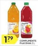 Compliments Fruit Drink