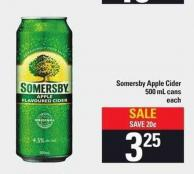 Somersby Apple Cider 500 Ml Cans