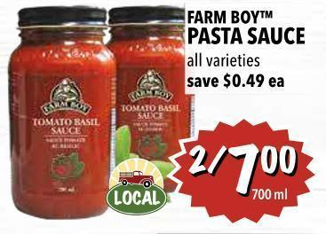 Farm Boy Pasta Sauce 700 ml