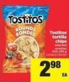 Tostitos Tortilla Chips - 205-295 g