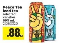 Peace Tea Iced Tea - 695 mL
