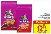 Whiskas Dry Food 4 Kg