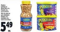 Planters Cashews Or Mixed Nuts 200 g Peanuts 600 g