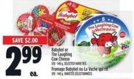 Babybel Or The Laughing Cow Cheese 120 - 140 g