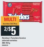 Hershey's Twizzlers Licorice - 300-454 G