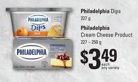 Philadelphia Cream Cheese Product - 227 – 250 G