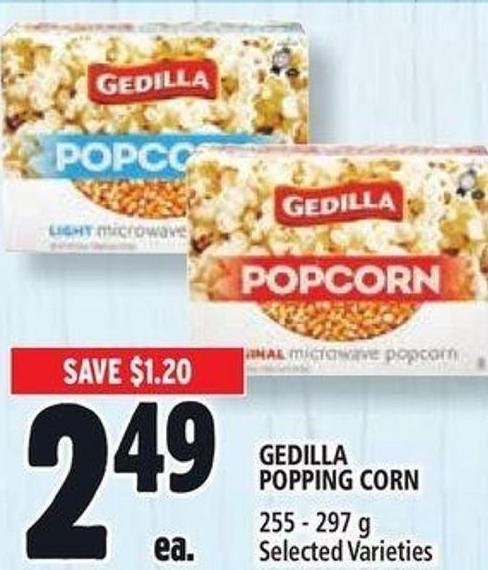 Gedilla Popping Corn