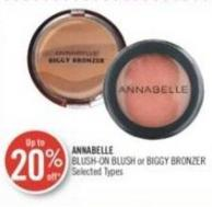 Annabelle Blush-on Blush or Biggy Bronzer