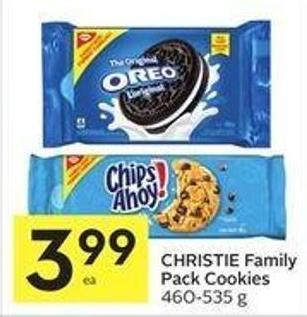 Christie Family Pack Cookies