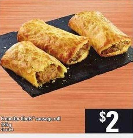 From Our Chefs Sausage Roll - 125 g