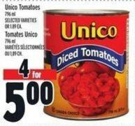 Unico Tomatoes 796 ml