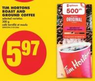 Tim Hortons Roast And Ground Coffee - 300 g