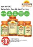 Sundown Naturals Vitamins or Natural Health Products