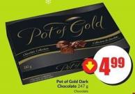 Pot of Gold Dark Chocolate 247 g