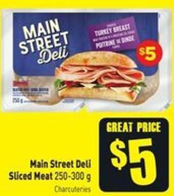 Main Street Deli Sliced Meat 250-300 g