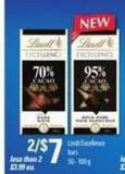 Lindt Excellence Bars