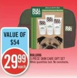 Bulldog 3-piece Skin Care Gift Set