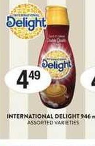 International Delight - 946 mL
