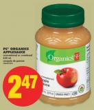 PC Organics Applesauce - 650 mL