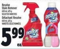 Resolve Stain Remover 650 ml - 625 g