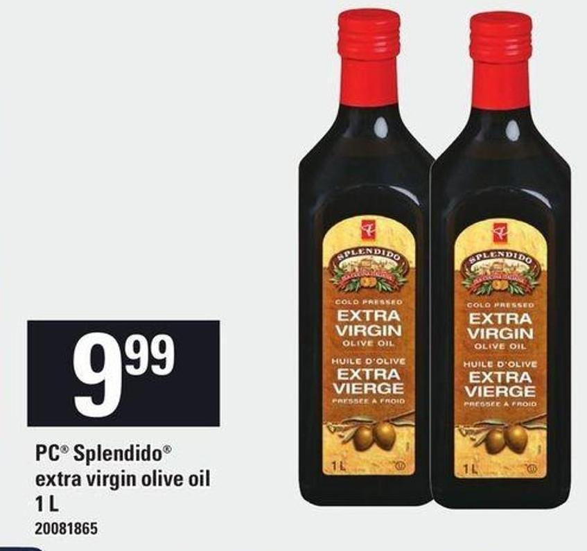 PC Splendido Extra Virgin Olive Oil - 1 L