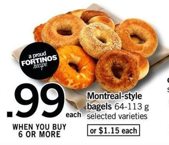 Montreal-style Bagels - 64-113 G