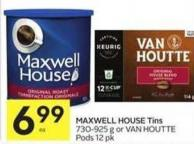 Maxwell House Tins