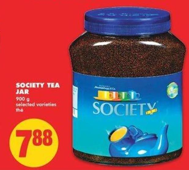 Society Tea Jar - 900 G
