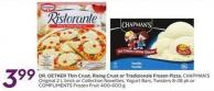 Dr. Oetker Thin Crust - Rising Crust or Tradizionale Frozen Pizza