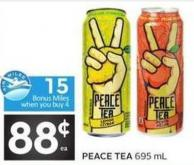 Peace Tea - 15 5 Air Miles Bonus Miles
