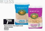 Nature's Path Eco Pacs Organic Cereal - 650-907 g