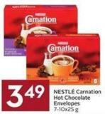Nestlé Carnation Hot Chocolate Envelopes 7-10x25 g