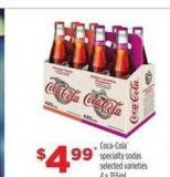 Coca-cola Specialty Sodas - 4 X 355ml