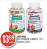 Iron Kids Multivitamin Gummies 120's