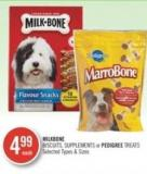 Milkbone Biscuits - Supplements or Pedigree Treats
