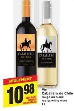 Vin caballero de chile rouge ou blanc on sale for Ou trouver des poissons rouges