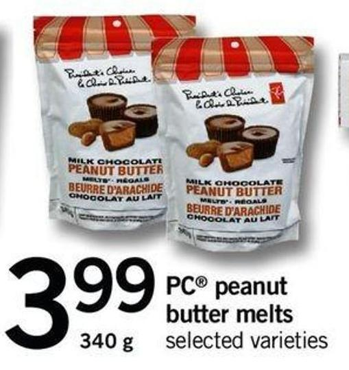 PC Peanut Butter Melts