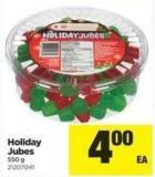 Holiday Jubes - 550 g