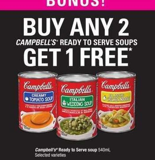 Campbell's Ready To Serve Soup - 540ml