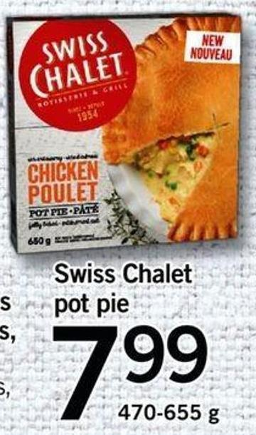 Swiss Chalet Pot Pie - 470-655 G