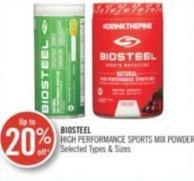 Biosteel High Performance Sports Mix Powder
