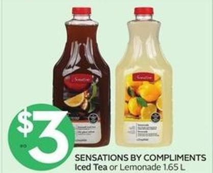 Sensations By Compliments Iced Tea