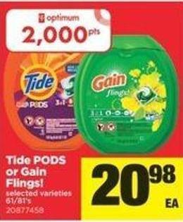 Tide PODS Or Gain Flings! - 61/81's