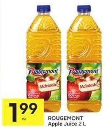 Rougemont Apple Juice