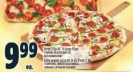 Fresh 2 Go 16in X-large Pizza